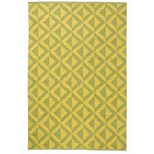 Medival Sage/Mustard Outdoor Rug