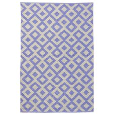 Tile Periwinkle/Shell Outdoor Rug