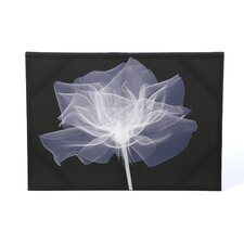 X-Ray Flower Printed Graphic Art on Canvas