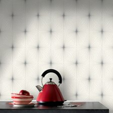 Contour Kitchen and Bath Dixie Geometric Wallpaper