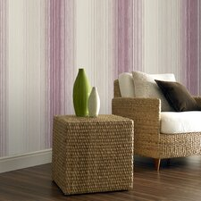 Chambray Stripe Wallpaper
