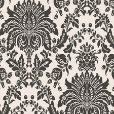 Elizabeth Damask Flocked Wallpaper