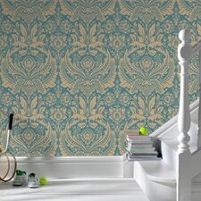 Spirit Desire Damask Wallpaper