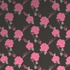 Laurence Llewelyn Bowen Shantung Floral Botanical Wallpaper