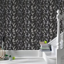 <strong>Graham & Brown</strong> Serenity Berries Floral Botanical Foiled Wallpaper