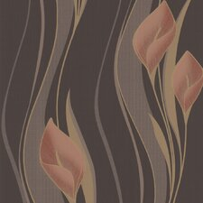 Serenity Peace Floral Botanical Wallpaper