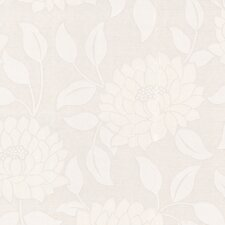 Paintable Summer Floral Botanical Wallpaper
