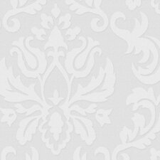 Paintable Damask Wallpaper