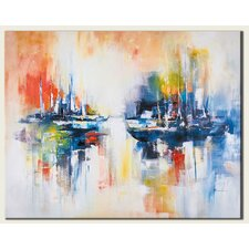 Sailing Original Painting on Canvas