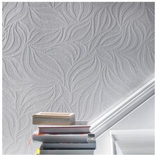 Eden Embossed Abstract Wallpaper