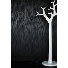 Shape and Form Empire Wallpaper in Black