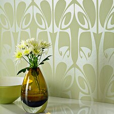 Hula Geometric Foiled Wallpaper