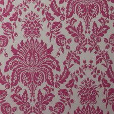 <strong>Graham & Brown</strong> Elizabeth Damask Flocked Wallpaper