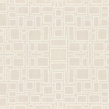 Paintable Squares Geometric Tiles Wallpaper