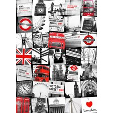 London Montage Canvas