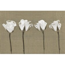 English Petals Canvas