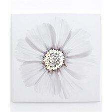 Metallic X Ray Floral Canvas