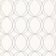 Darcy Pearl Geometric Wallpaper