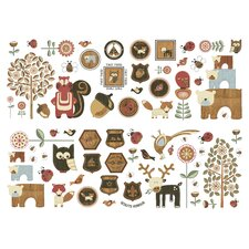 Forager Wall Stickers