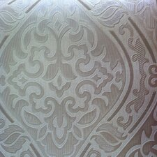 Hermitage Labyrinth Damask Wallpaper