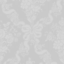 Fabulous Glimmerous Floral Damask Wallpaper