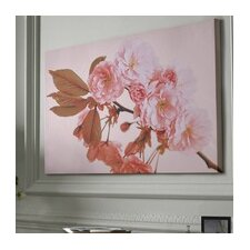 Peach Blossom Canvas Wall Art