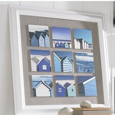 Beach Scene Framed Painting Print