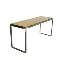 Cityscape Wood Entryway Bench