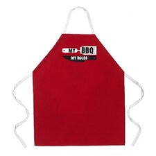 My BBQ My Rules Apron