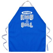<strong>Attitude Aprons by L.A. Imprints</strong> Future King Apron in Royal