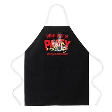 What Part of Party Apron in Black