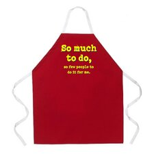 <strong>Attitude Aprons by L.A. Imprints</strong> So Much to Do Apron