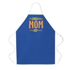 <strong>Attitude Aprons by L.A. Imprints</strong> Being a Mom Apron