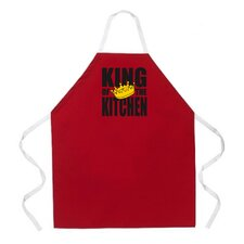 <strong>Attitude Aprons by L.A. Imprints</strong> King of the Kitchen Apron