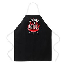 Licensed to Grill Apron