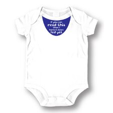 <strong>Attitude Aprons by L.A. Imprints</strong> Fed Yet Baby Romper