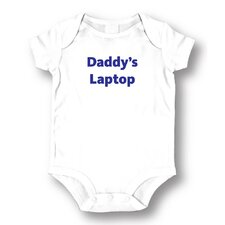 Daddy's Laptop Baby Romper
