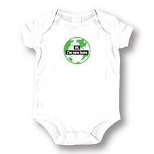 New Here Baby Romper