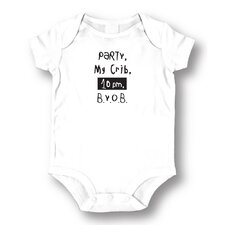 Party My Crib Baby Romper