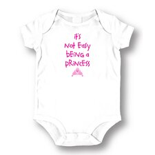 <strong>Attitude Aprons by L.A. Imprints</strong> Princess Baby Romper
