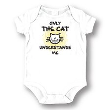 <strong>Attitude Aprons by L.A. Imprints</strong> Only the Cat Baby Romper