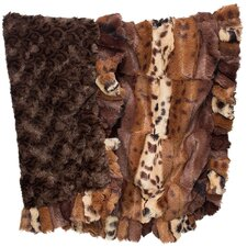 Fancy Leopard Dog Cuddle Blanket
