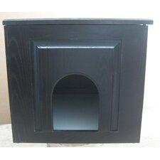 Raised Panel Litter Box Concealment Cabinet