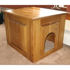 <strong>Classic Pet Beds</strong> Raised Panel Litter Box Concealment Cabinet