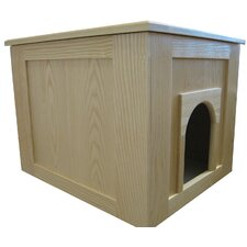 Flat Panel Litter Box Concealment Cabinet