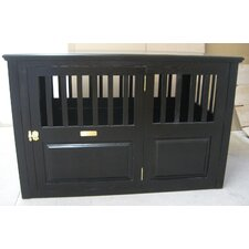 Handmade Furniture-Style Dog Crate