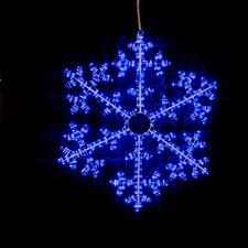 360 Light Snowflake LED Rope Light