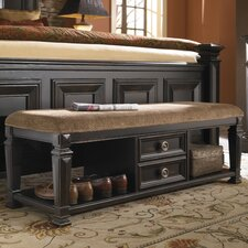 <strong>Pulaski Furniture</strong> Brookfield Wood Storage Bedroom Bench