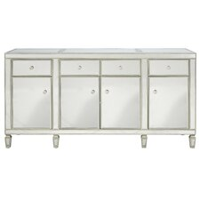Mirrored Credenza Sideboard