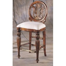 <strong>Pulaski Furniture</strong> Edwardian Bar Stool with Cushion